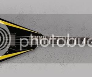 Cọp với cây guitar mới