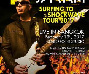 Joe Satriani với chặng tour Đông Á và Đông Nam Á