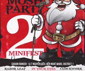 Christmosh Party 2 – đại tiệc Giáng sinh cuồng nhiệt và nổi loạn