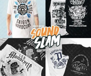 Merchandise chất tại SoundSlam 2017