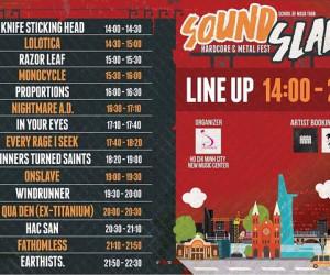 Setlist chính thức của Soundslam Festival 2017 vừa được hé lộ