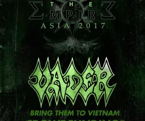 Cộng đồng metal Việt Nam chung tay gây quỹ cho show diễn Vader
