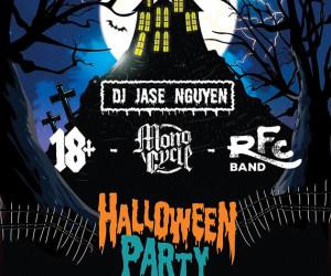 Ban nhạc 18+ đón Halloween tại Rock Fan Club