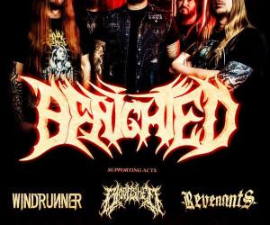 Con khủng long death metal Benighted biểu diễn tại Hà Nội