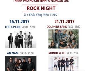 Hòa cùng 2 đêm nhạc trong tuần Lễ hội văn hóa thế giới 2017