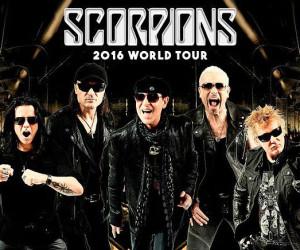 Ban nhạc kì cựu Scorpions biểu diễn tại Hà Nội