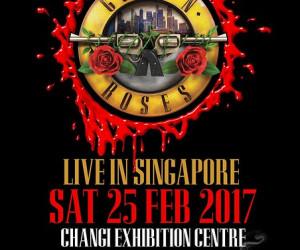 Guns N Roses công bố lịch tour tại Singapore