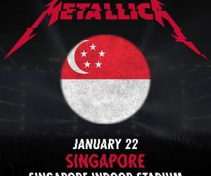 Metallica sẽ ghé Singapore vào 22-01-2017