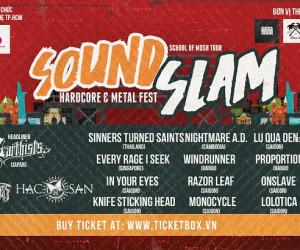 Các bạn nhạc tham gia SoundSlam cùng truyền tải thông điệp One Scene One Soul